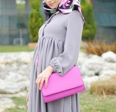 15103a9005cf8 Kapalı Hamile Bayanlar İçin Hamile Elbiseleri
