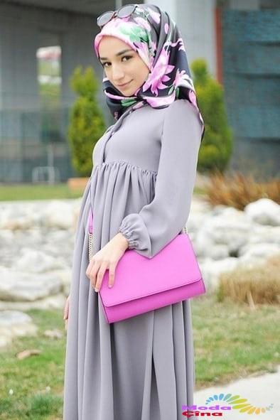 f14751a587a8f ... kapalı kadın hamile kıyafeti, tesettürlü hamile kıyafeti, kapalı kadın  hamile elbisesi